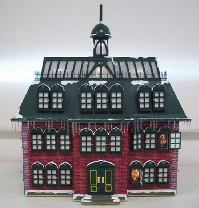 The most detailed Advent Calendar house ever m