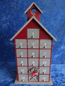 Country Barn Advent Calendar