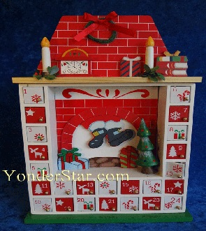 Advent wooden calendar, countdown to Christmas 2017, countdown to Christmas ideas, wood Christmas countdown calendar, wooden Advent Calendars, wood Advent calendars with drawers, Advent calendar to fill, Advent calendar fill your own, 3D Advent calendars, wooden house Advent calendar, house Advent calendar, wooden Advent calendar house