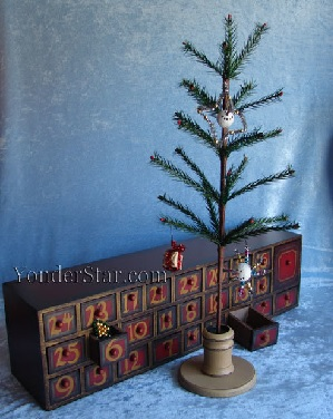 rustic Advent calendar, vintage Advent calendar, Advent wooden calendar, countdown to Christmas 2017, countdown to Christmas ideas, wood Christmas countdown calendar, wooden Advent Calendars, wood Advent calendars with drawers, Advent calendar to fill, Advent calendar fill your own, 3D Advent calendars, wooden house Advent calendar, house Advent calendar, wooden Advent calendar house